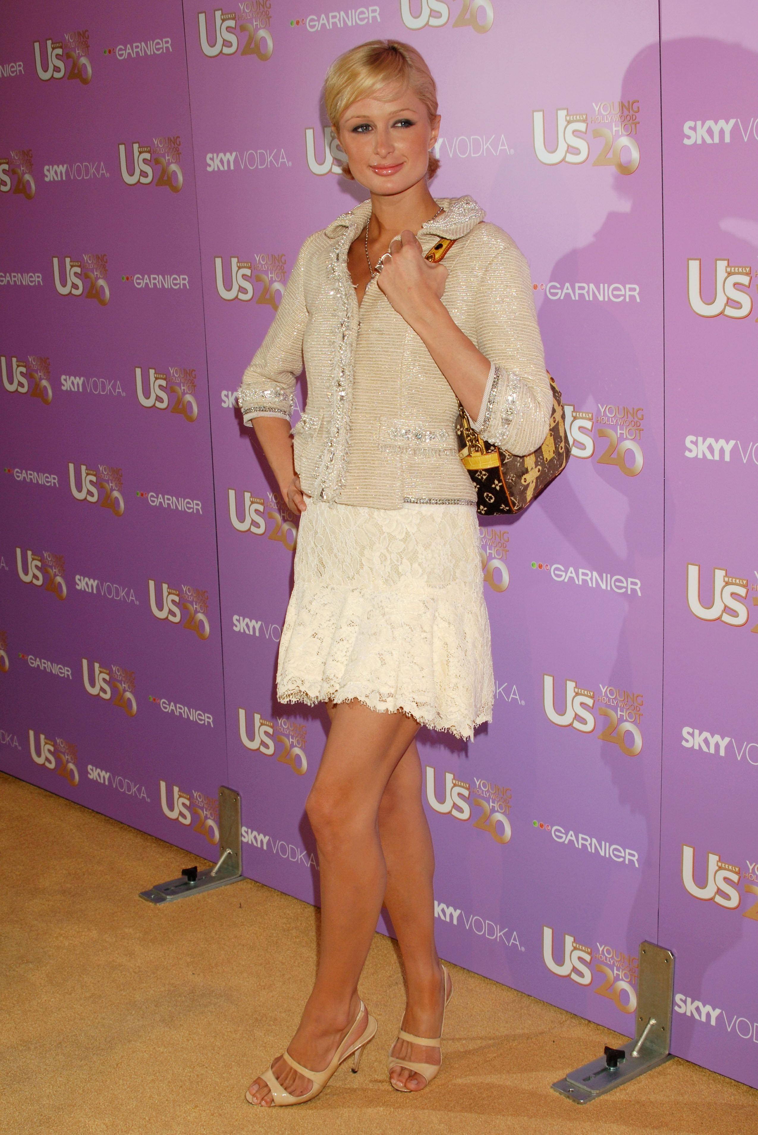 Paris Hilton  Feeture - Sexy Womens Feet-7304